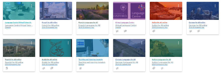 screenshot of small group flipped classrooms